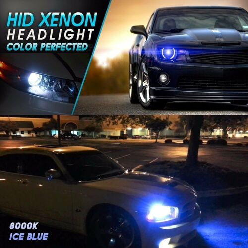 Dodge 2008-2017 Challenger Headlight H13 9012 Fog Light HID Conversion Kit 6K 8K
