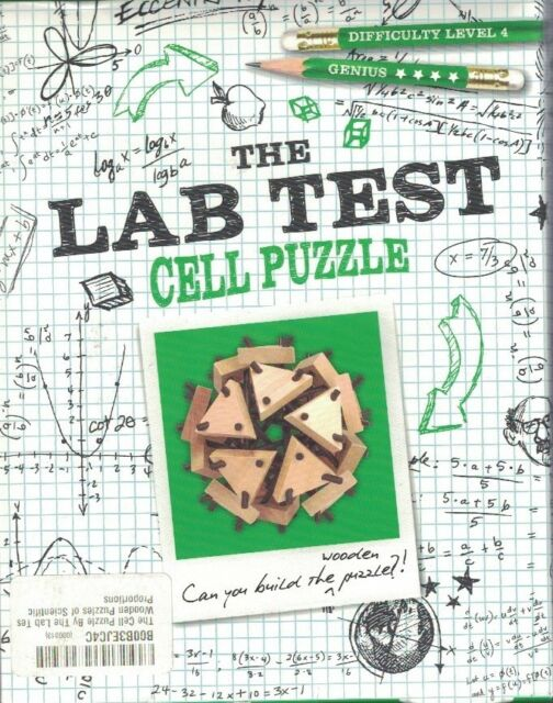 Cell Puzzle The Lab Test - Level 4 Genius Brain Teaser