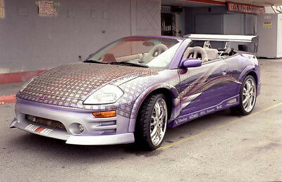 2001 Mitsubishi Eclipse Spyder >> Fast And Furious 2001 Mitsubishi Eclipse Spyder Car Vinyl Decal Side Hood Roof Ebay