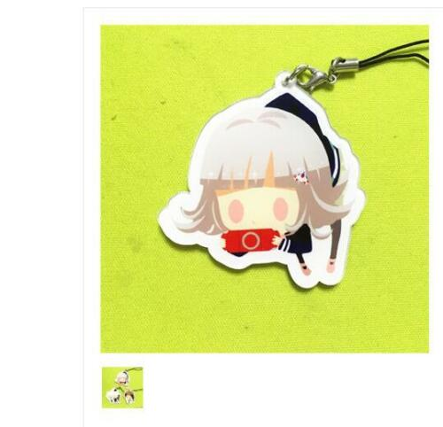 Danganronpa V3 Komaeda Nagito Naegi Makoto Nanami Chiaki Keychain Strap On
