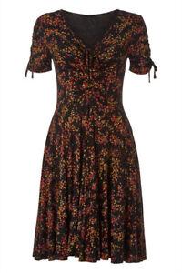 Roman-Originals-Women-039-s-Ditsy-Floral-Dress-Sizes-10-20