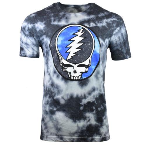 GRATEFUL DEAD Mens S M 2 XL Tee T Shirt American Rock Sleeve Tie Dye Vintage NEW