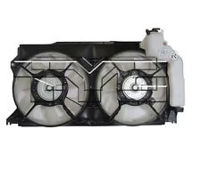 TYC 623370 Dual Rad&Cond Fan Assy for Scion FR-S 2013-2016 Models