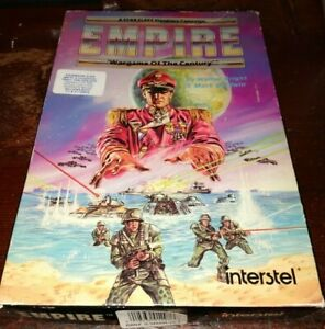 Vintage Software Empire Wargame of the Century IBM/PC BOX ONLY NO GAME