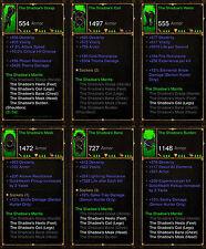 Diablo 3 RoS PS4 [SOFTCORE] - The Shadows Mantle Demon Hunter Set [Ancient]