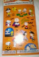 Peanuts Halloween Snoopy Charlie Brown Lucy Halloween Stickers 42 Sticker