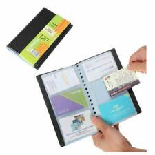 120 Cards Business Name Id Credit Card Holder Book Case Keeper Organizer Premium