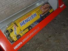 Herpa LKW MB Actros 11 Bigspace Kühl-KSZ Henglein Pizzateig 121569