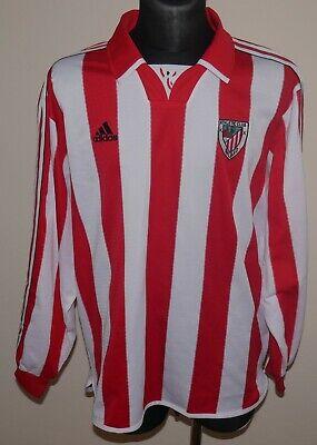 Athletic Bilbao 1999-2001 Adidas Vintage Jersey Adults XL ...