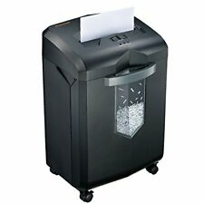 Paper Shredder Office Heavy Duty Cross Cut With 6 Gallon Pullout Basket