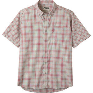 NWT-50-MOUNTAIN-KHAKIS-MENS-S-S-SPALDING-GINGHAM-SHIRT-SMALL