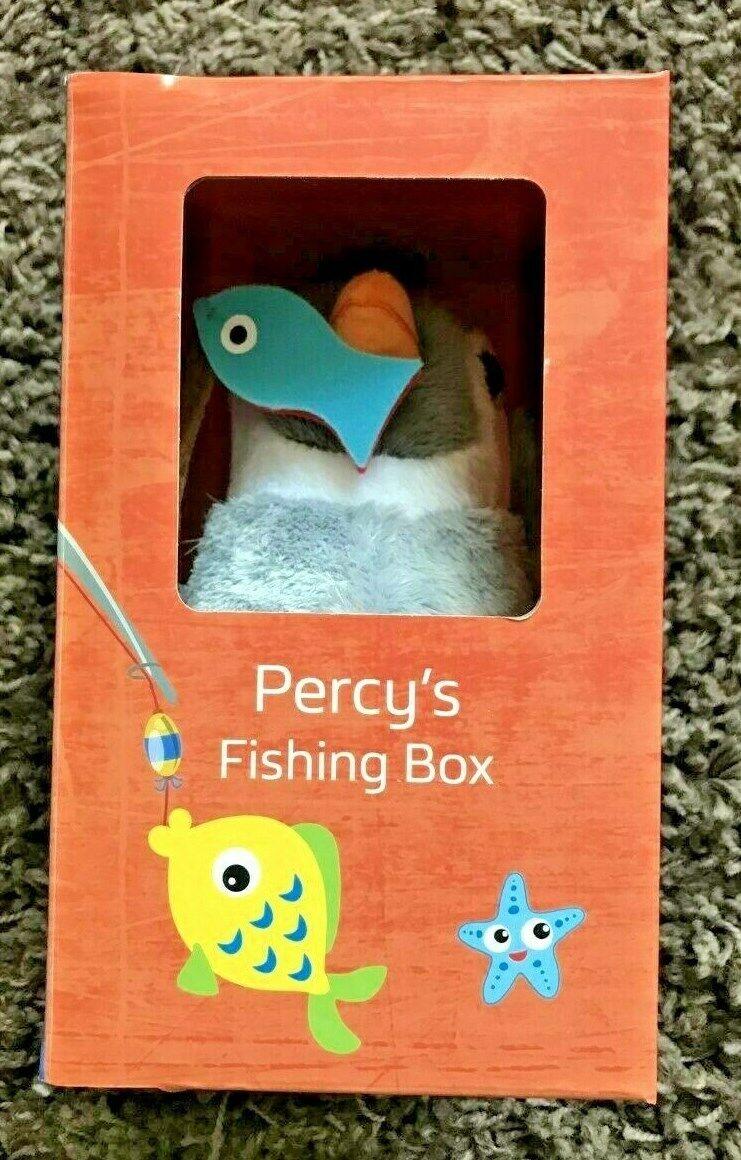Percy Nephew  Wilbur the Explorer  Penguin Soft Toy  British Gas  RARE