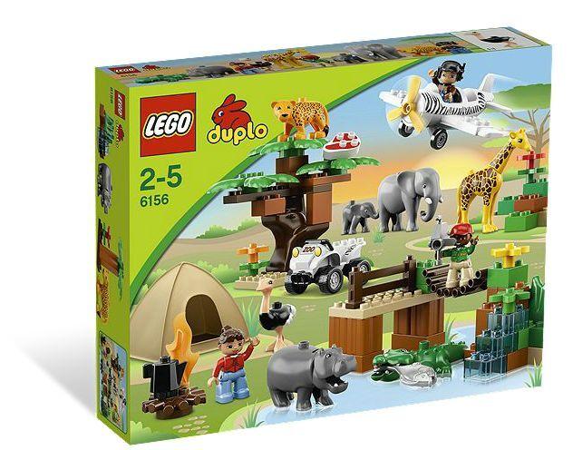 LEGO ® DUPLO 6156 Safari AVVENTURA NUOVO OVP _ PHOTO Safari NEW MISB NRFB