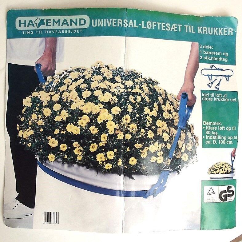 Andet, HAVEMAND TING TIL HAVEARBEJDET, Plastic og metal