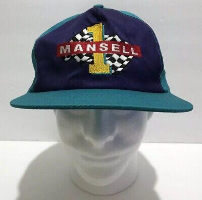 Nigel Mansell Texaco Racing Hat Cap