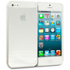 Ultra Thin Clear Crystal Snap-On Hard New Case Cover For Apple iPhone 5 5G 5S