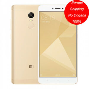 Xiaomi Redmi Note 4X 3/32G Qualcomm SnapDragon 625 Octa Core 4G LTE 4100mAh Oro - Italia - Xiaomi Redmi Note 4X 3/32G Qualcomm SnapDragon 625 Octa Core 4G LTE 4100mAh Oro - Italia