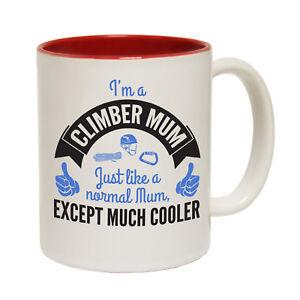 Funny Mugs Adrenaline Addict Id Rather Be Climbing Rock Climbing Bouldering MUG