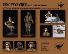 1/35 Scale resin kit USMC Tank Crew in Vietnam War (3 Figures)