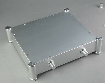 3607T Full Aluminum Enclosure black AMP case//power amplifier box// chassis
