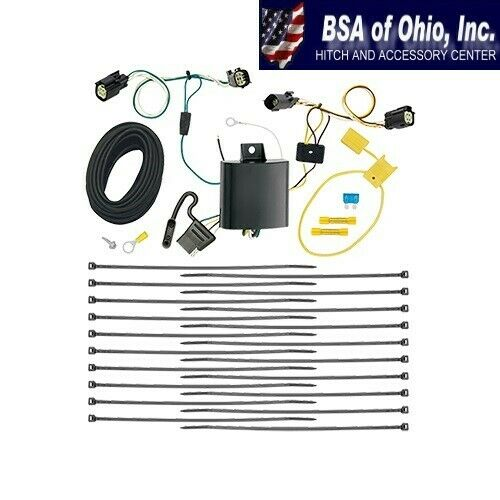 Trailer Hitch Wiring Tow Harness For Chrysler Pacifica