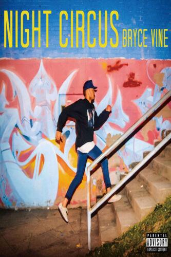 X462 Night Circus Bryce Vine Rapper Music 12x8 40x27 Hot Wall Poster