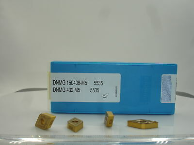 1367 DNMG 432 M5 VP5535 VALENITE Carbide Inserts 10pcs