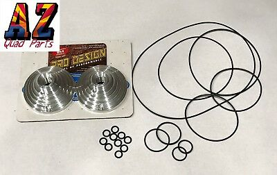 Pro Design Cool Head and Billet 17CC 17 CC Domes Kit Yamaha Banshee 350