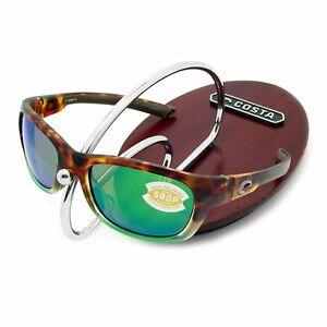 2cf2f1c65cbe6 NEW Costa Del Mar TREVALLY Matte Tortuga Fade   580 Green Mirror ...