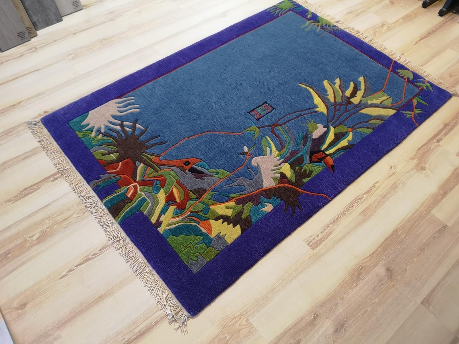 Nepal alfombra yssima Nini Ferrucci 9341 250x300 cm multiColor Designer