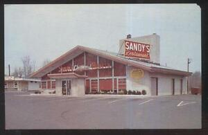Details About Postcard Paramus Nj New Jersey Sandy S Charcoal Hearth Restaurant 1950 S