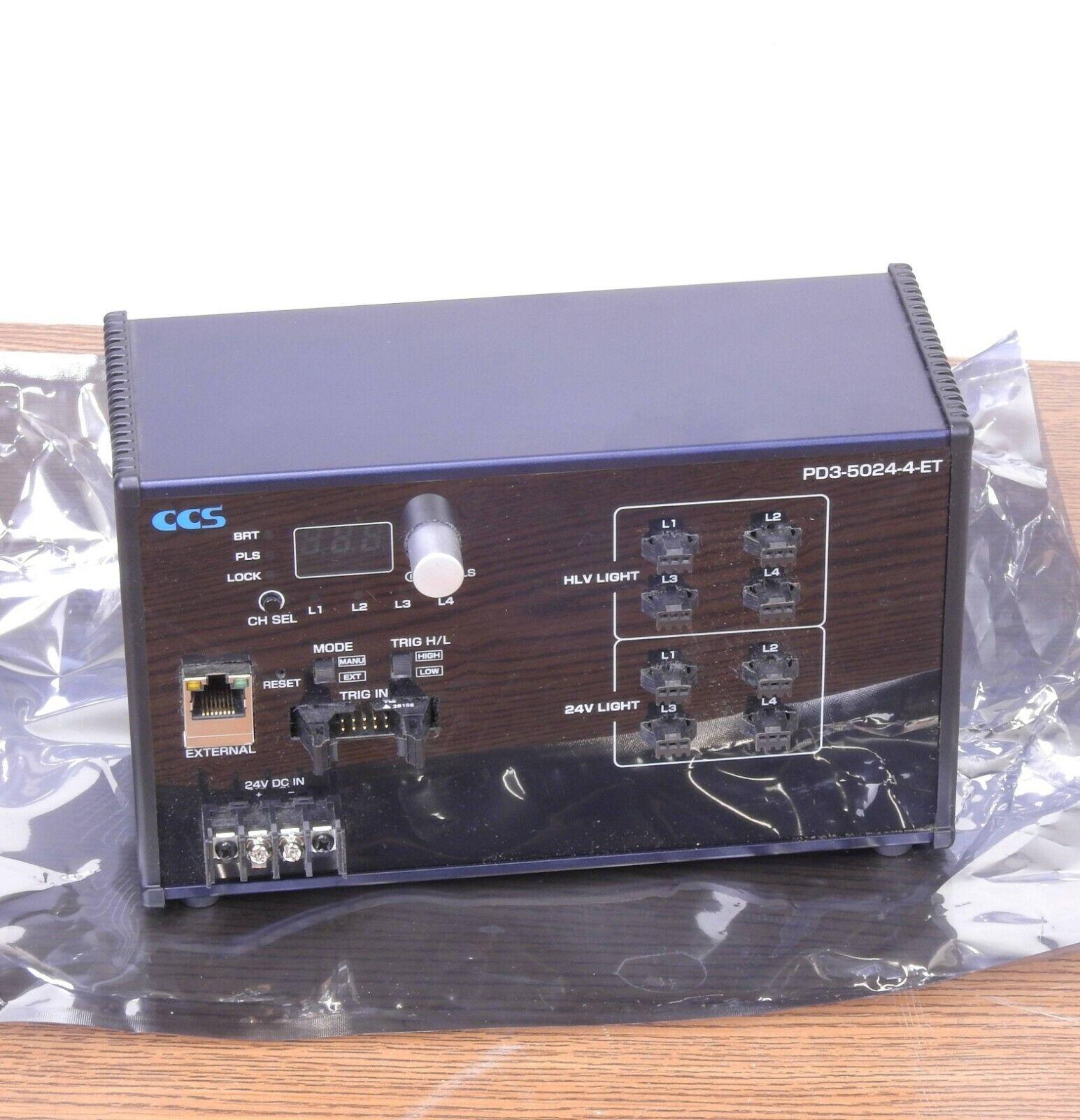 CCS Ethernet machine vision & inspection
