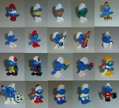 Les Figurine plastique Schtroumpfs Schtroumpf avec une bouteille Happy Smurfda