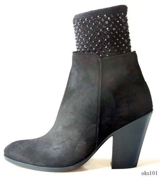 qualità autentica New  1900 Giuseppe ZANOTTI nero CRYSTALS CRYSTALS CRYSTALS ANKLE stivali scarpe - SO AMAZING  vendita calda online