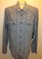No Fear Guys Juniors Long Sleeves Cotton Botton Down Shirt With Front Pockets