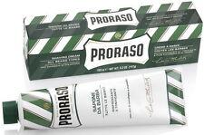 Proraso Eucalyptus and Menthol Shaving Cream 150ml Green Tube 150ml