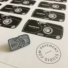 Olympus Mju ii 2 35mm Camera Pin Badge