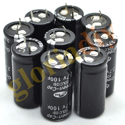 6pcs New Original Super Capacitor 2.7V100F 22*45mm Farad Capacitor Free Shipping