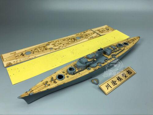 Wooden Deck for Flyhawk FH1132S 1//700 German Battleship Bismarck 1941 CY700044