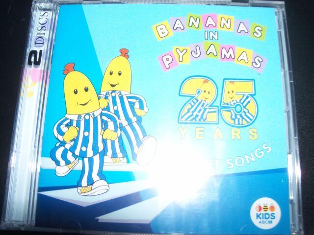 Bananas In Pyjamas: 50 Best Songs ABC Kids 2 CD - NEW