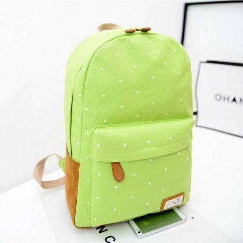 Damen Mädchen Reisetasche Rucksack Schulter Schule Außentasche Backpack Sporty