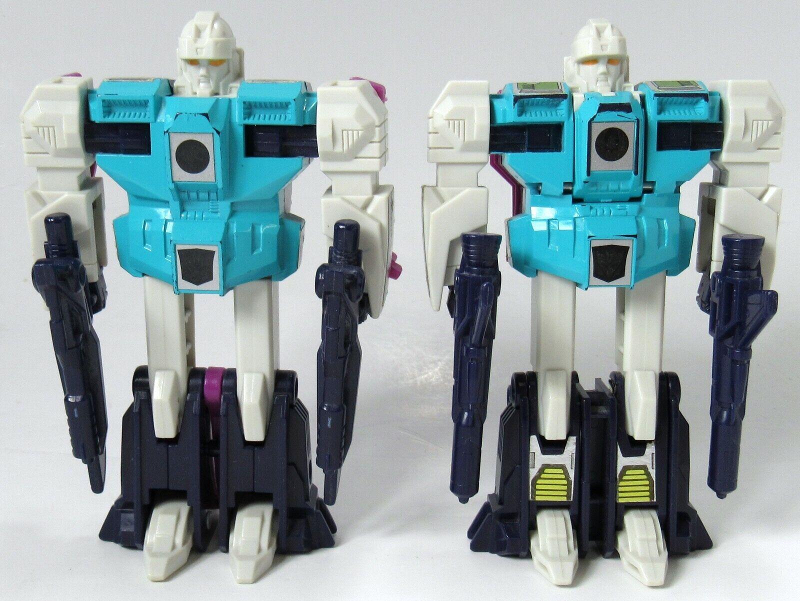 Vintage Transformers G1 Decepticon clones alimento y envergadura Completa