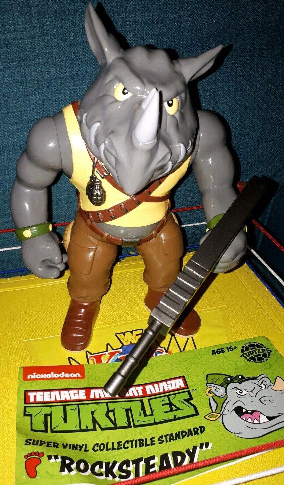 orden en línea Tortugas Ninjas Adolescentes Mutantes TMNT Rocksteady-negrodots 12 12 12  Raros Coleccionables  buscando agente de ventas