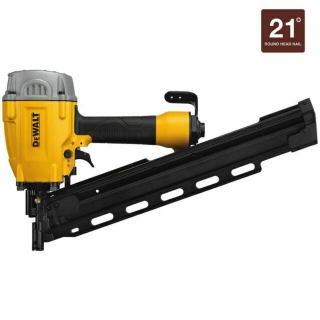 New DEWALT - DWF83PL Pneumatic 21-Degree Collated Framing Na