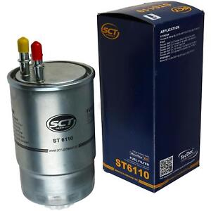 Original-sct-Filtro-de-combustible-St-6110-fuel-filter