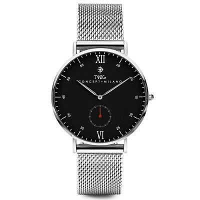 Reloj hombre/mujer TWIG VERLAINE oro/negro/plata malla clásico vintage minimal