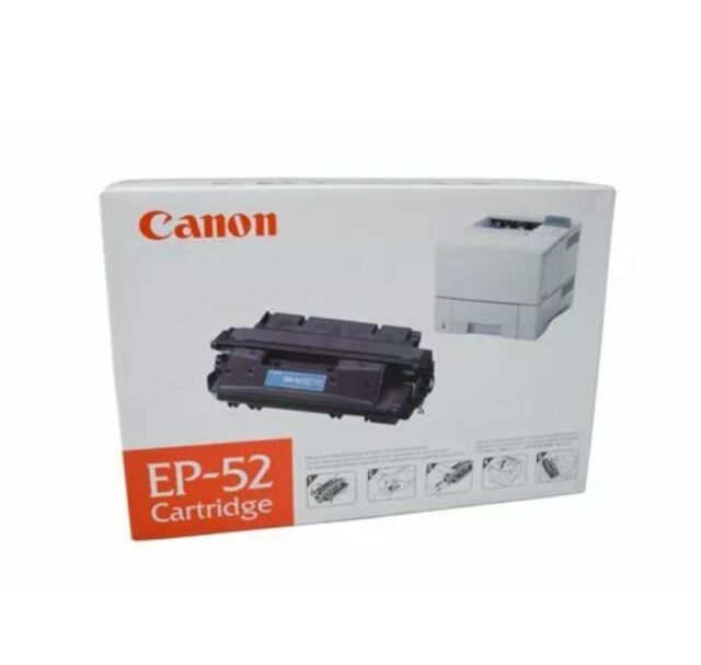 Canon Genuine EP52 Black Toner Cartridge for LBP1760/1760E/1760E2 (10K Yield)
