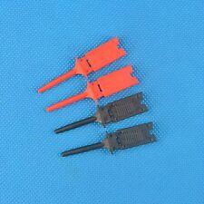 5 pair Colours Single Hook Clip Grabber Test Probe for SMD IC Multimeter 2k