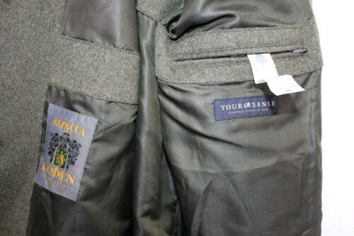 Womens Wool Sense 18 Your 6th Pure S Black Loden Alpacca Coat Jacket Vtg Uk EZzwXqZ