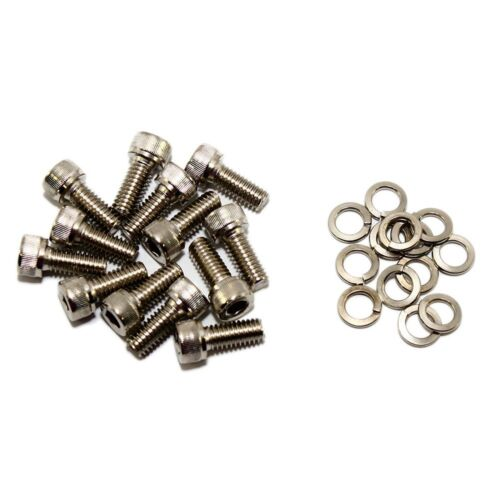 Transmission Pan Zinc Plated Allen Head Bolt Kit w// Washers Chevy GM TH350 TH400